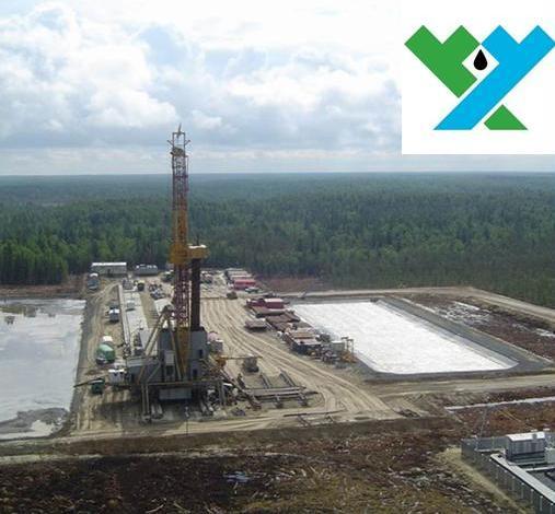 Площадка нефтяного месторождения