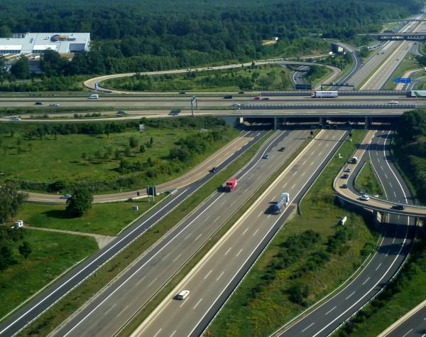 Автомагистраль в Германии